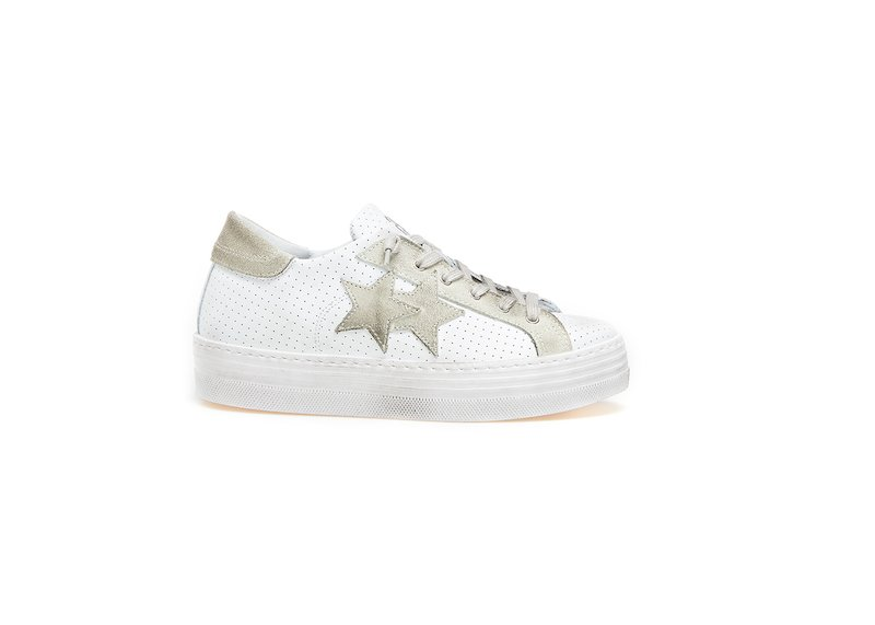 HS ICE-WHITE LOW SNEAKERS