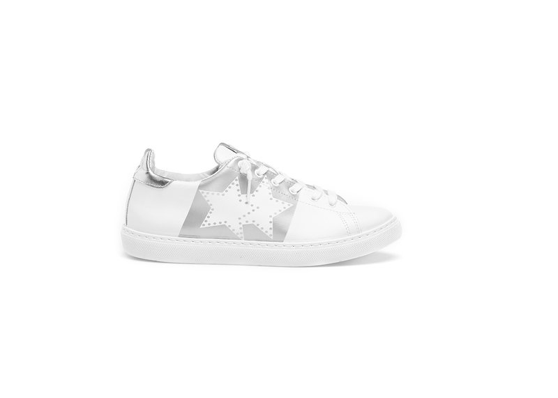 HS WHITE LOW SNEAKERS