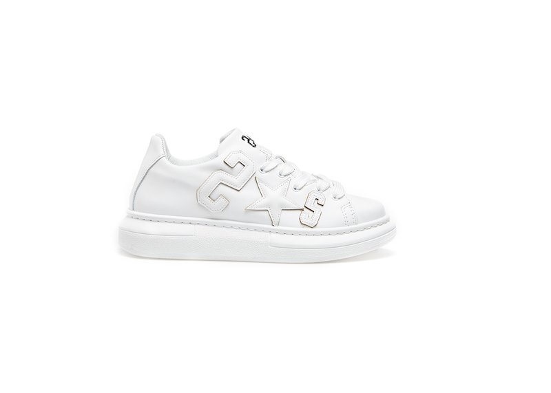 WHITE LOW SNEAKERS 2*S