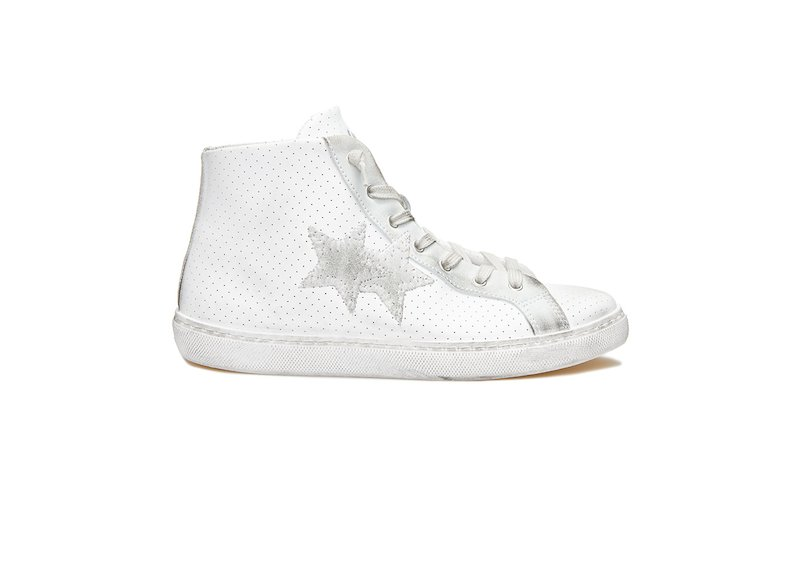 ICE WHITE HIGH SNEAKERS