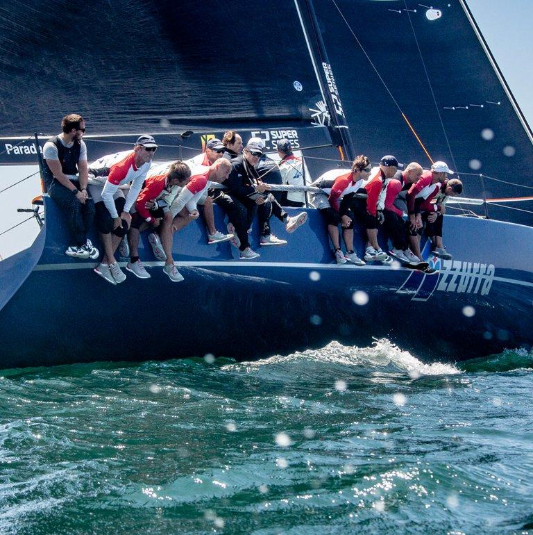 Azzurra, un barco que no necesita presentaciones.
