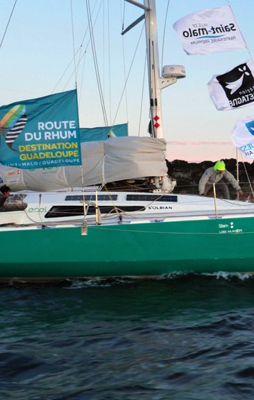 Andrea Fantini and the Route du Rhum. An incredible human adventure.