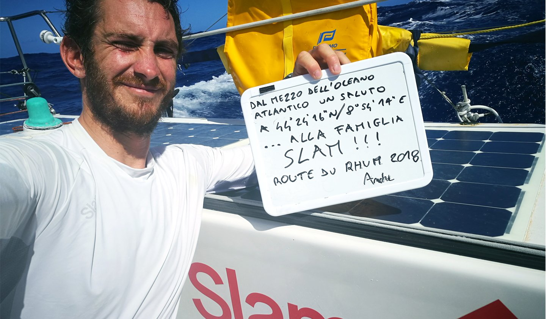 Carta de Andrea Fantini desde el mar: viento, mar y pasión en la ruta a Guadalupe
