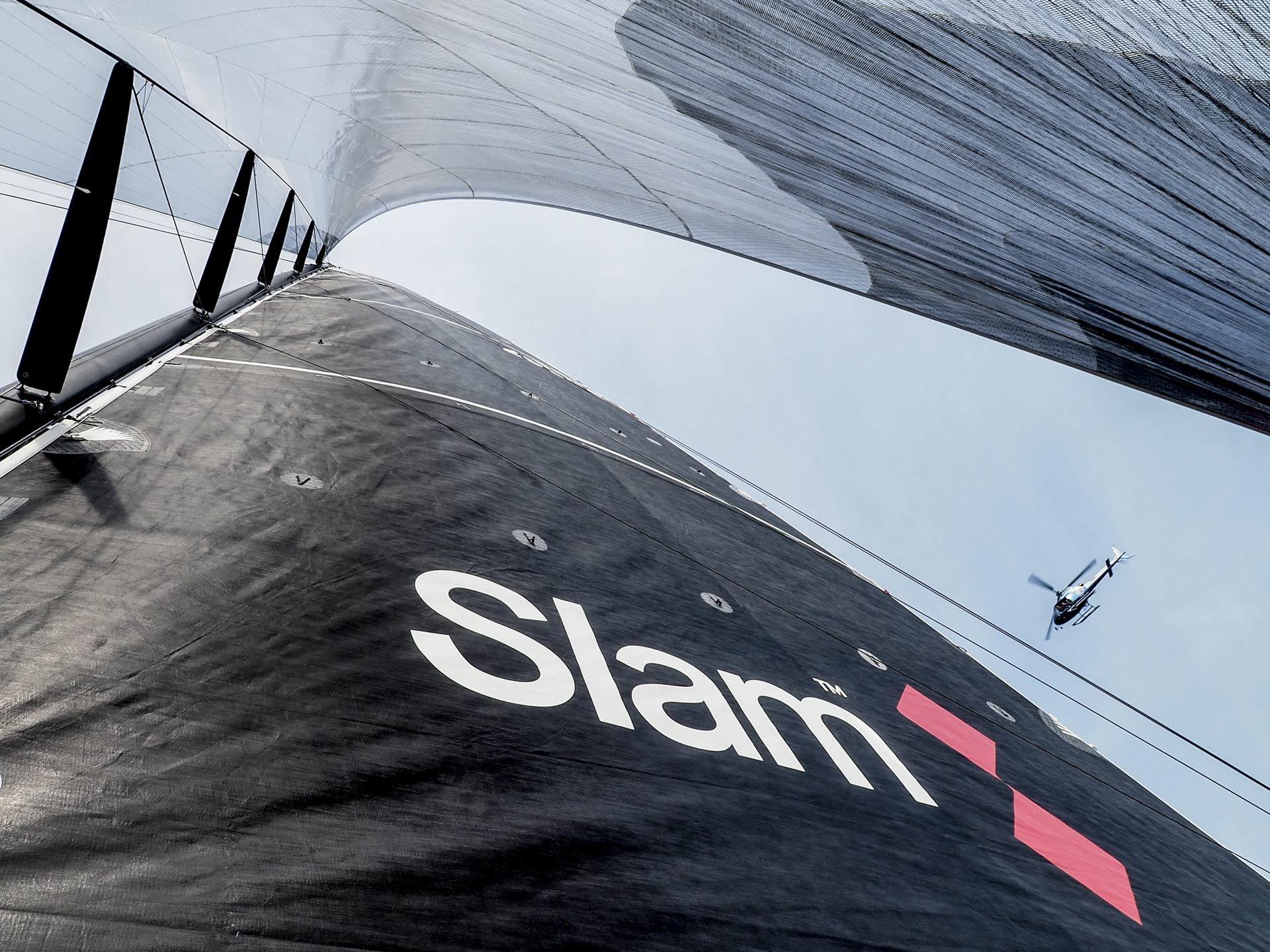 Relookage de Slam, la marque de la passion