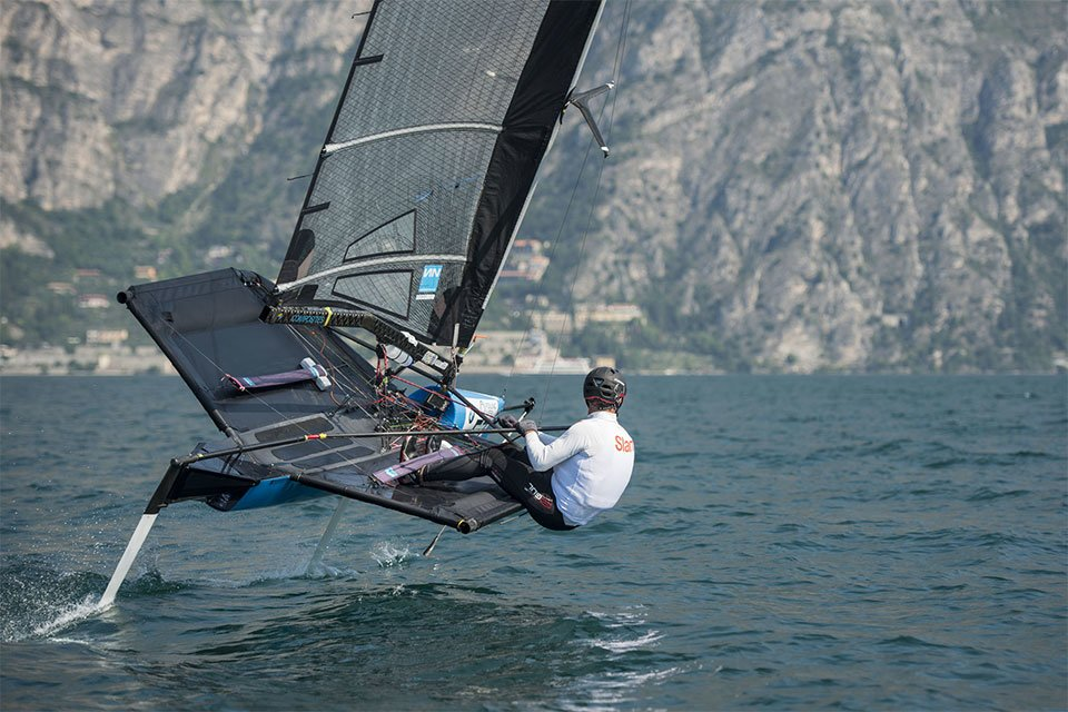 Foiling Week. Sailing has taken off.