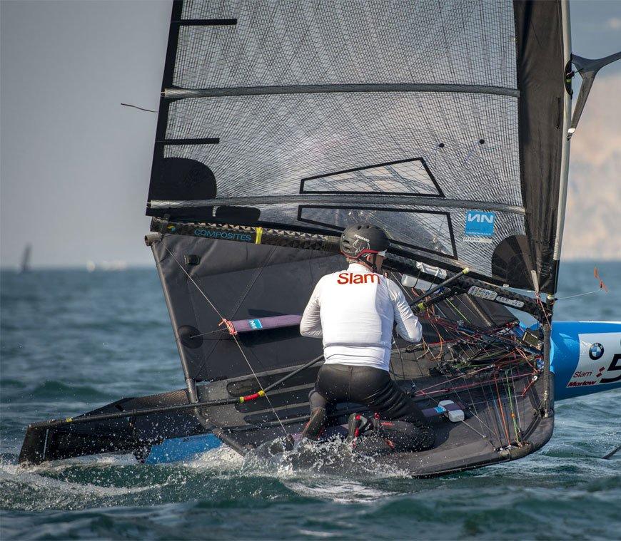 Foiling Week. Sailing has taken off.