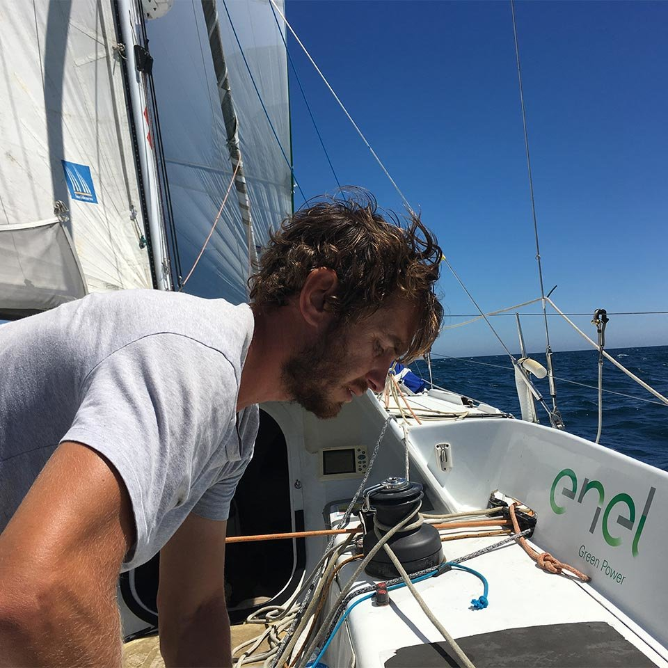 Andrea Fantini and the<br>Route du Rhum.