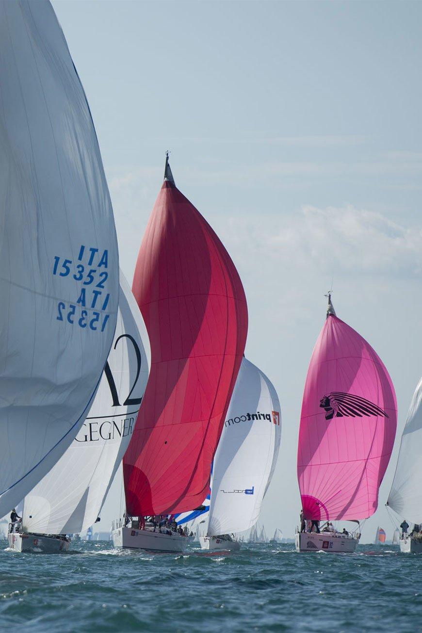 Barcolana: la histórica<br>regata