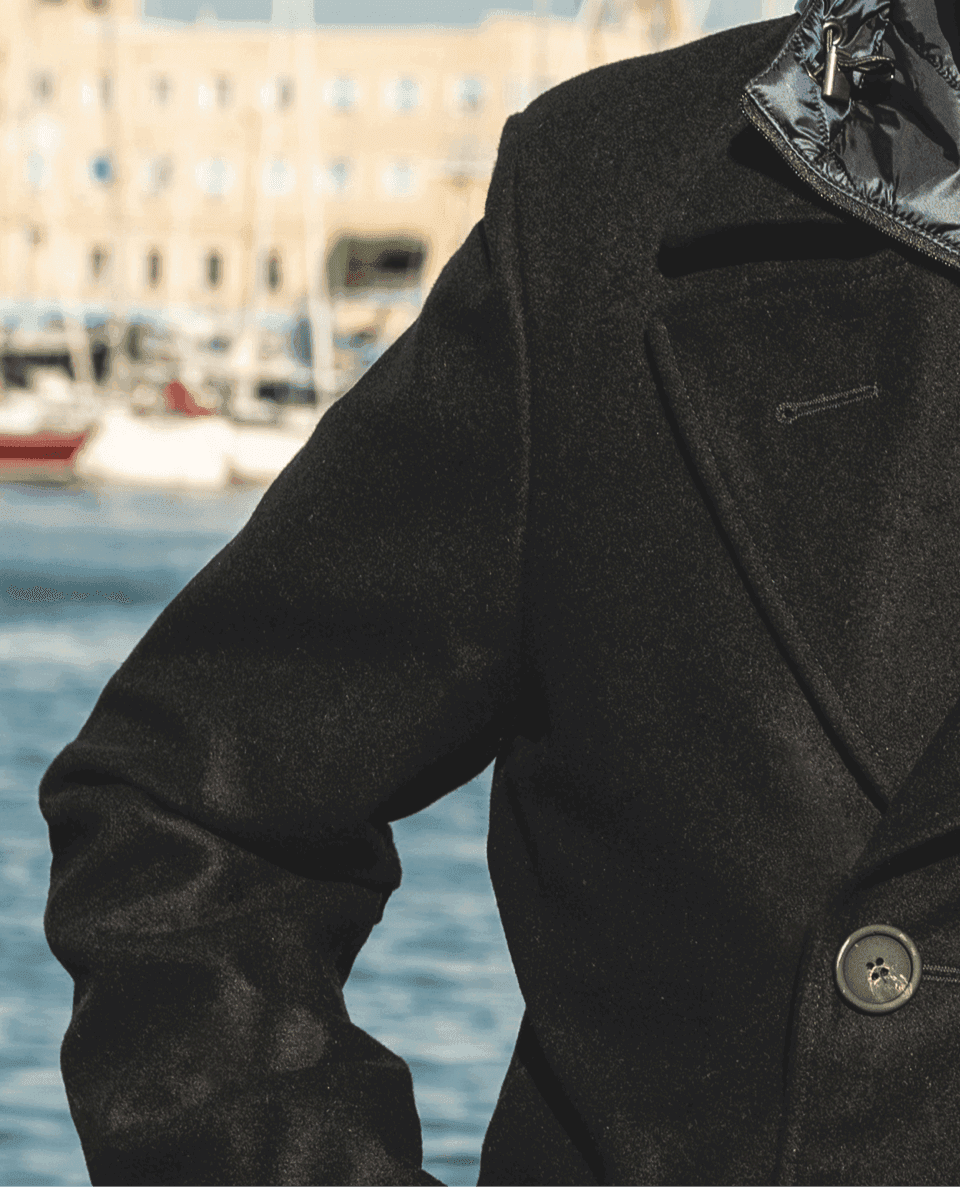 Sea-ty Peacoat,<br>nautical style<br>comes to town