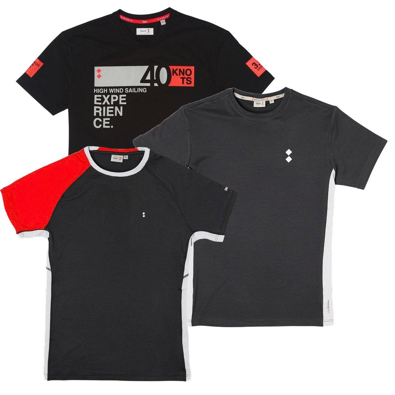 ¡3 camisetas deportivas de hombre todo terreno!