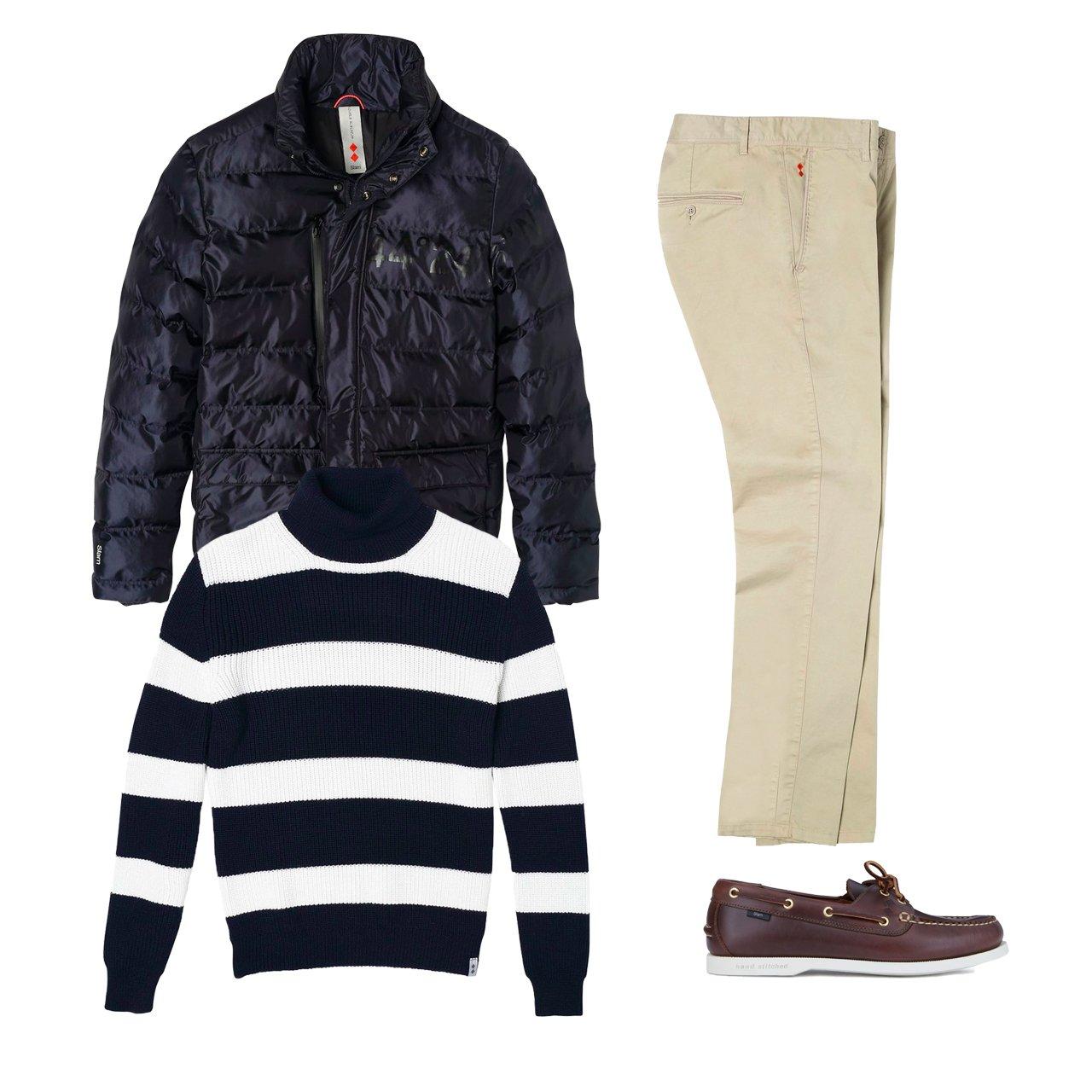 El look Navy style del otoño 2020