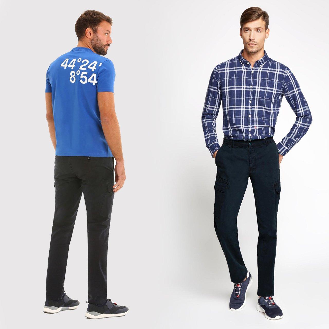 ¿De qué bando eres, pantalones cargo o pantalones chino?