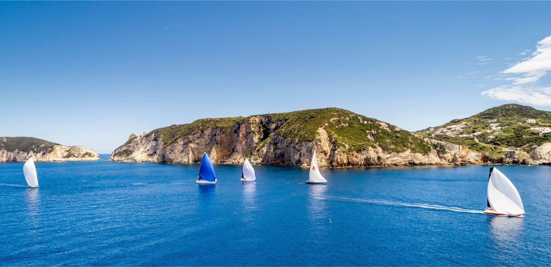 Slam et Rolex Capri Sailing Week, le premier rendez-vous ne s'oublie jamais