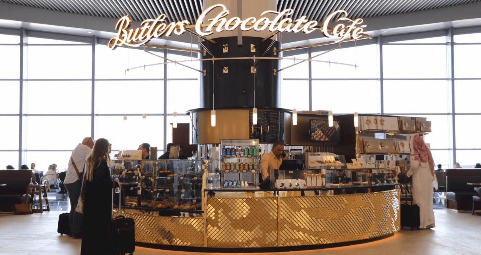 Butlers Chocolate Café, King Khalid International Airport