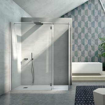Corner Shower Enclosure