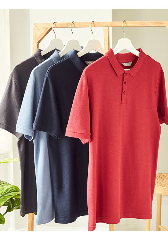 Men's Polo Shirts From £6