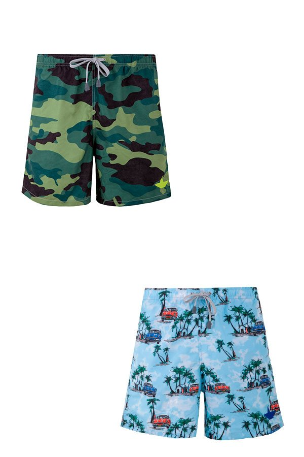 Camouflage Swim and The Beach Suite