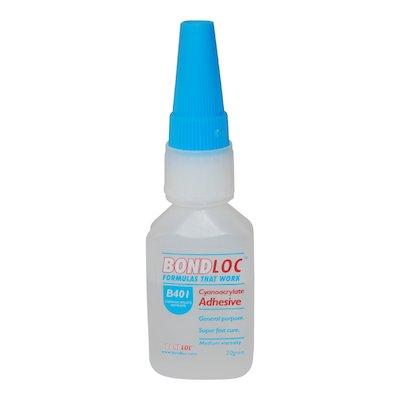 B 401 Cyanoacrylate Adhesive 20gm - 401