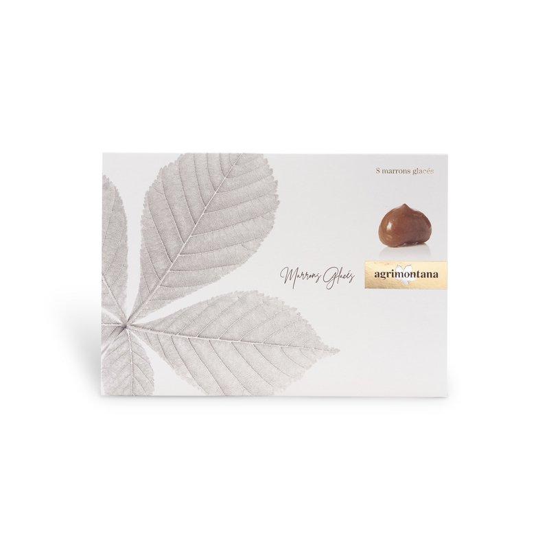 Marrons glacés - foil wrapped glazed chestnuts