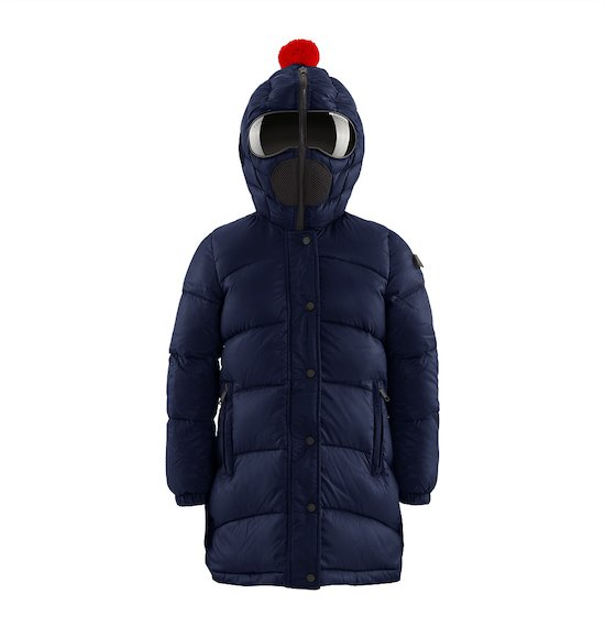 Girl's quilted down jacket