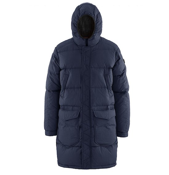 Long Down Jacket Oversize