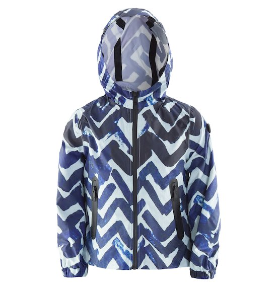 Windbreaker jacket printed