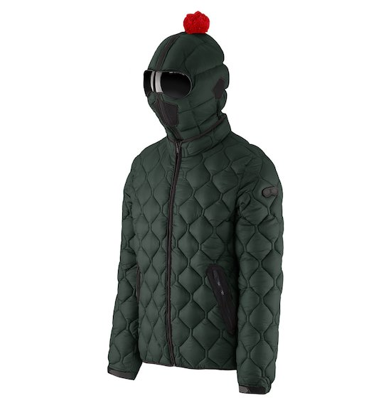 f56f746085 Man's jacket and down jackets with glasses ⋄ 2017 | AI Riders On ...