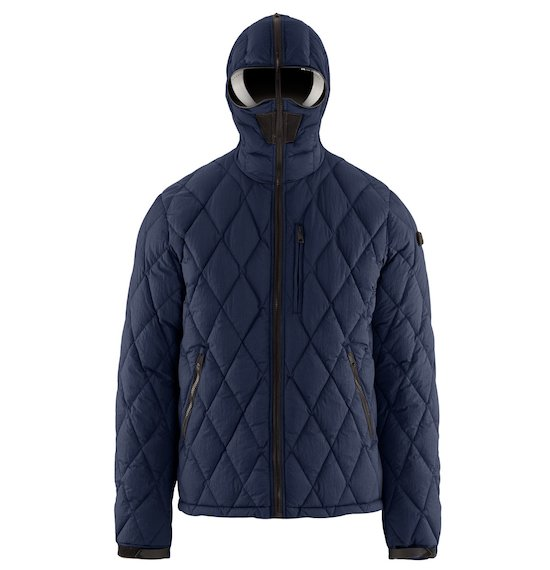 Short Down Jacket Diamond Quilting
