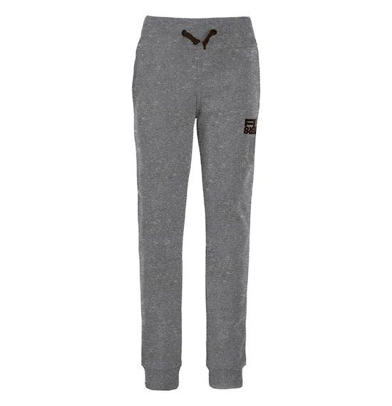 Boy's trousers in cotton fleece