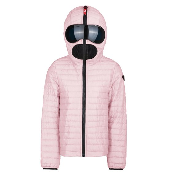 Girls' jacket in nylon micro-ripstop