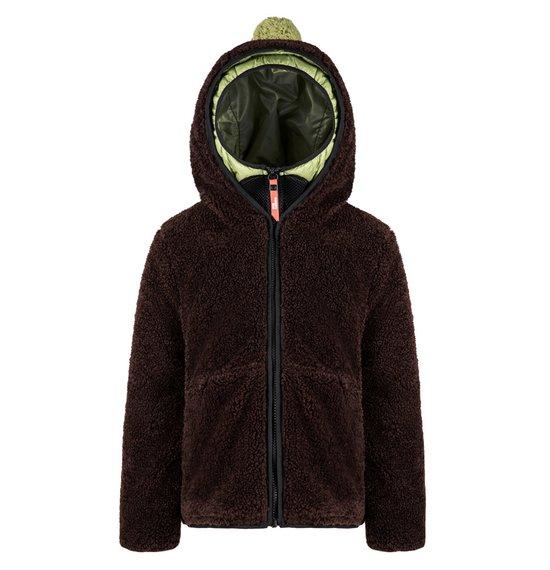 Boy's Jacket in Sherpa Fleece
