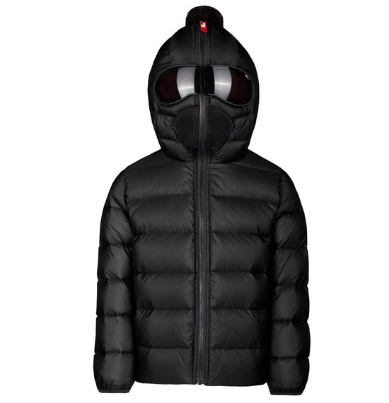 Boy's jacket in Nylon micro-Ripstop