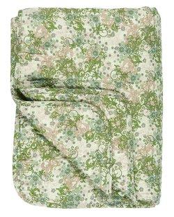 Green & Beige Cotton Quilt