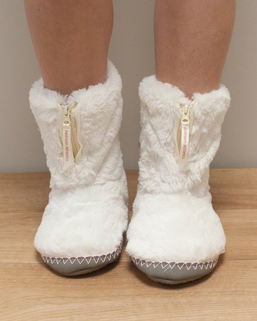 Monroe Faux Fur Slipper Boot