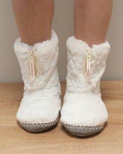 Monroe Faux Fur Slipper Boot
