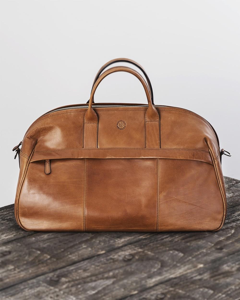 Saddler Leather Weekend Bag