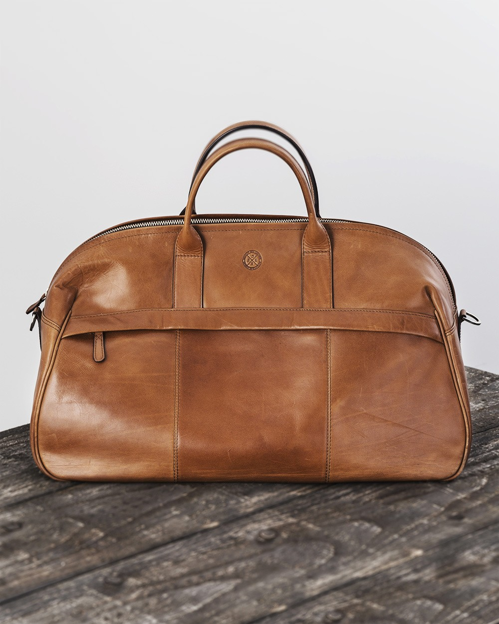 Saddler Leather Weekend Bag