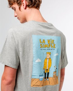 La Vie Simple Tee-Shirt - Fishing