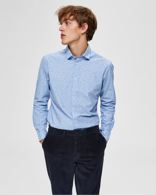 Mark Slim Fit Washed Shirt