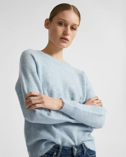 Lulu Knit O-Neck Jumper