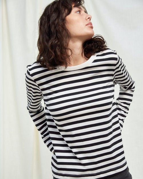 Standard Striped Long Sleeve T-Shirt
