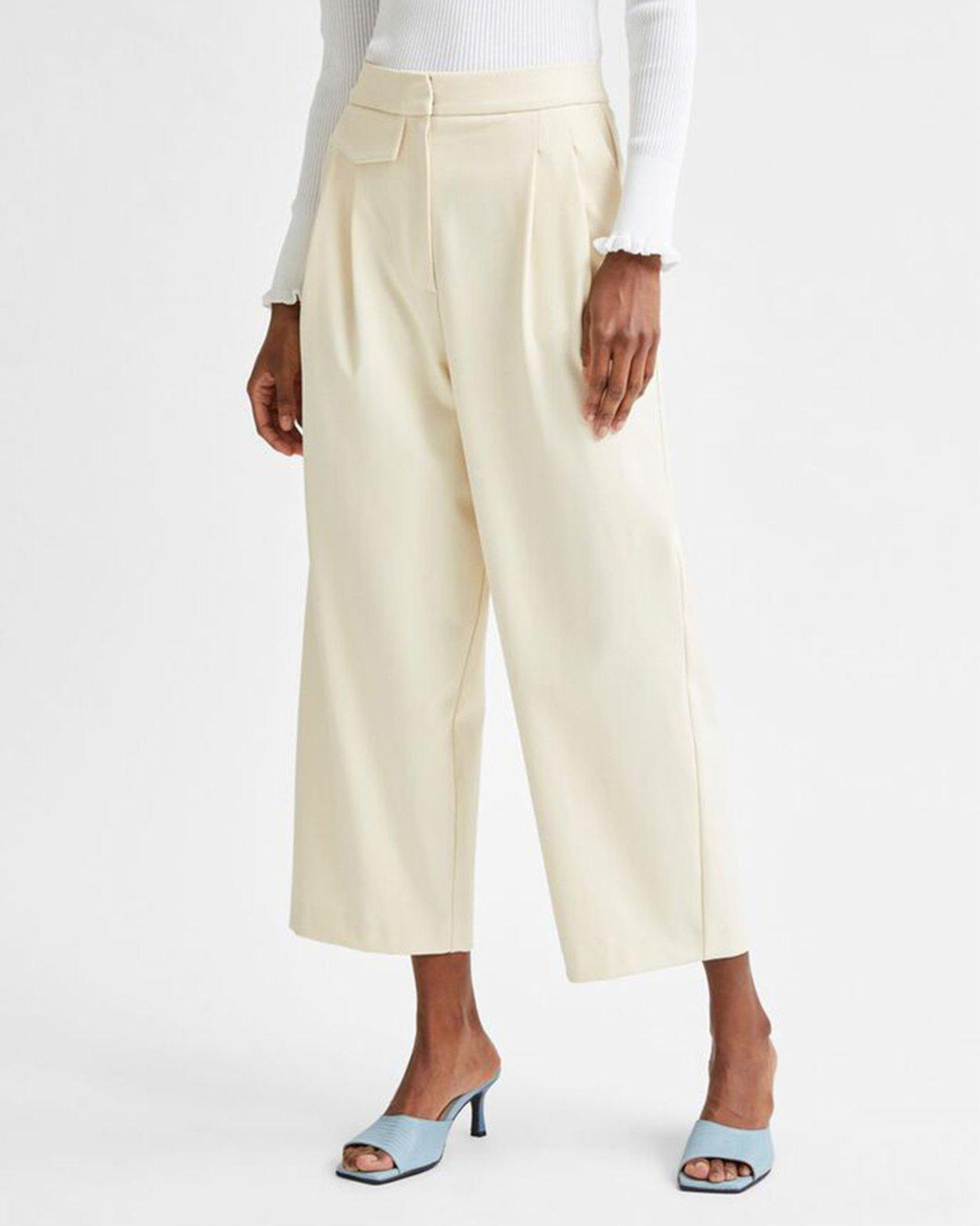 Hyme High Waist Cropped Pant