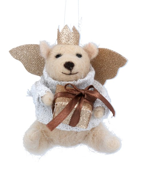 Teddy Angel with Parcel