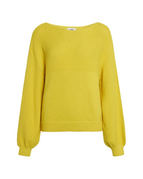 Chunky Cotton Blend Sweater