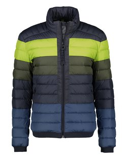 Quilted Colourblock Jacket