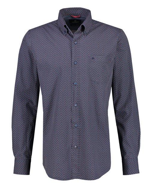 Button Down Print Shirt