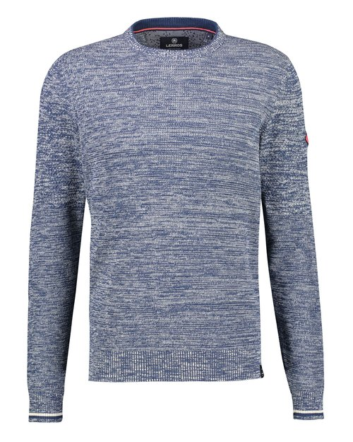 Structured-Twist Crewneck Jumper
