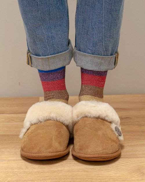 Molly Sheepskin Slipper Mule