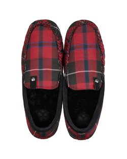 Benedict Check Woven Moccasin