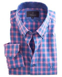 Soft Wash Check Cotton Shirt
